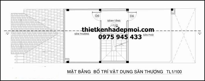 mau thiet ke nha mat tien 6m 3 tang mai thai dep nhat 2016 4521