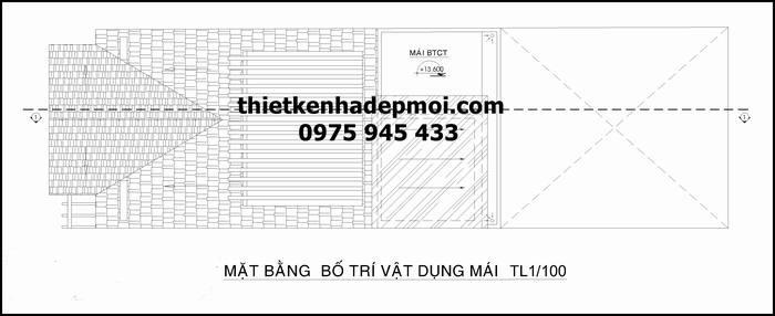 mau thiet ke nha mat tien 6m 3 tang mai thai dep nhat 2016 mai 3251