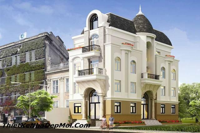 biet thu 3 tang kieu phap nguy nga 4343
