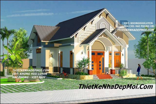 biet thu 1 tang kieu phap 8884