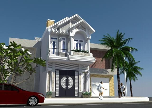 Thiết kế nhà 1 lầu 1 trệt đẹp