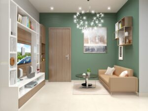 nhà mẫu căn hộ Samsora Riverside