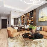 Mẫu thiết kế căn hộ Le Grand jardin Long Biên
